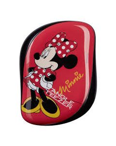 Tangle Teezer Compact Styler Hairbrush - Disney Minnie Mouse Rosy Red
